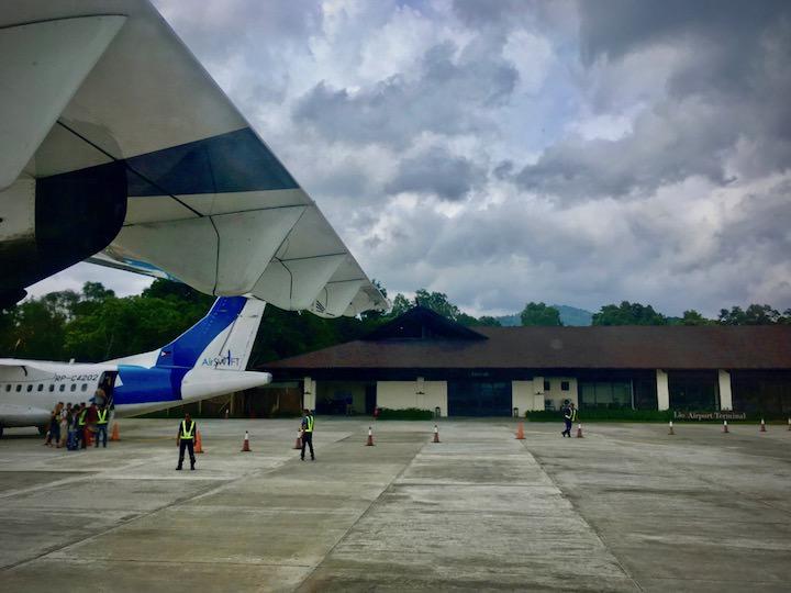 エルニド空港は小さいけどリゾート感あるデザイン