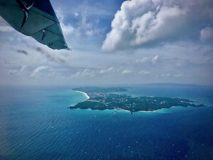エアスイフト航空の飛行機でボラカイからエルニドへ移動