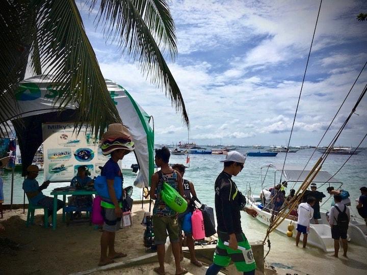 ボラカイ島で参加したアクティビティツアー内容