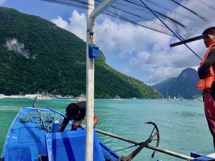 フィリピンの秘境エルニドでアイランドホッピングツアー