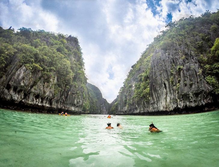 フィリピンの秘境エルニドのビッグラグーン