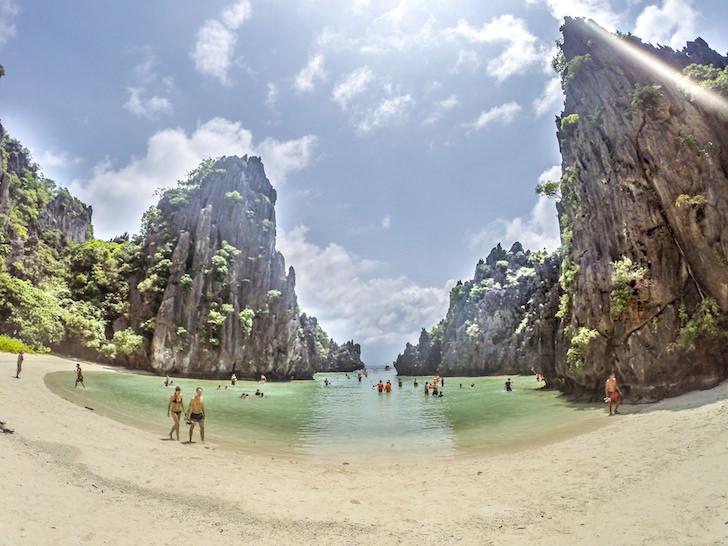 エルニドのヒドゥンビーチ