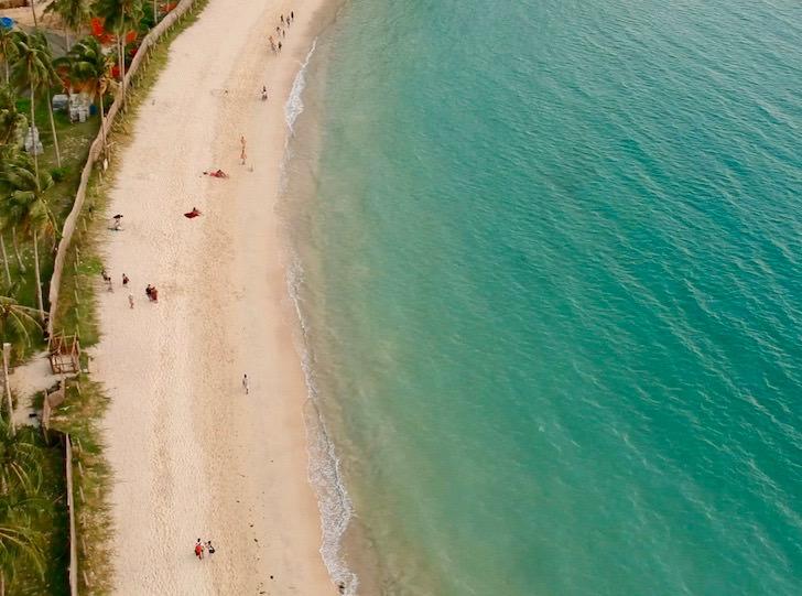 エルニドのラス・カバナスビーチ(Las Cabañas Beach)