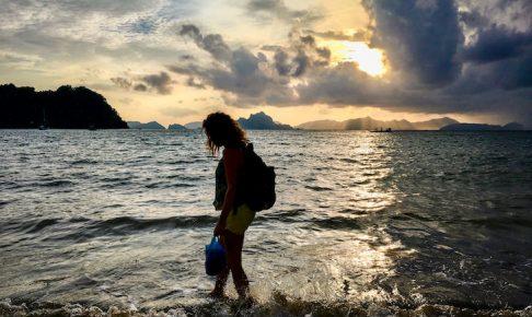エルニドのおすすめビーチをレンタルバイクで周遊するプラン