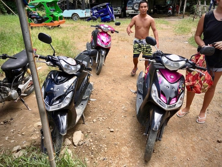 フィリピン秘境のエルニドでレンタルバイクを借りる方法