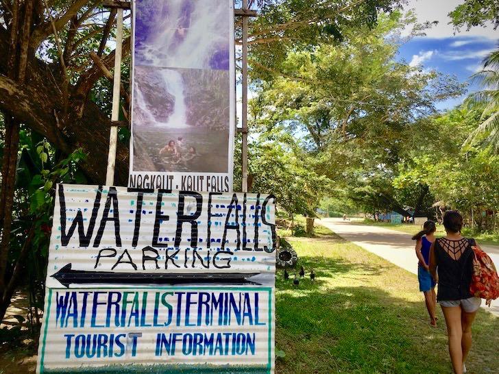 ナグカリット・カリット・ウォーターフォール(Nagkalit-kalit Waterfalls)