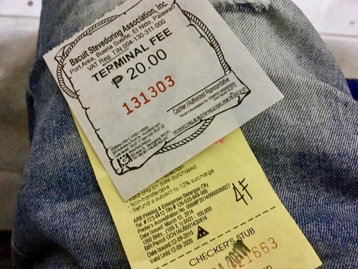コロン島行きフェリーターミナル料金とチケット