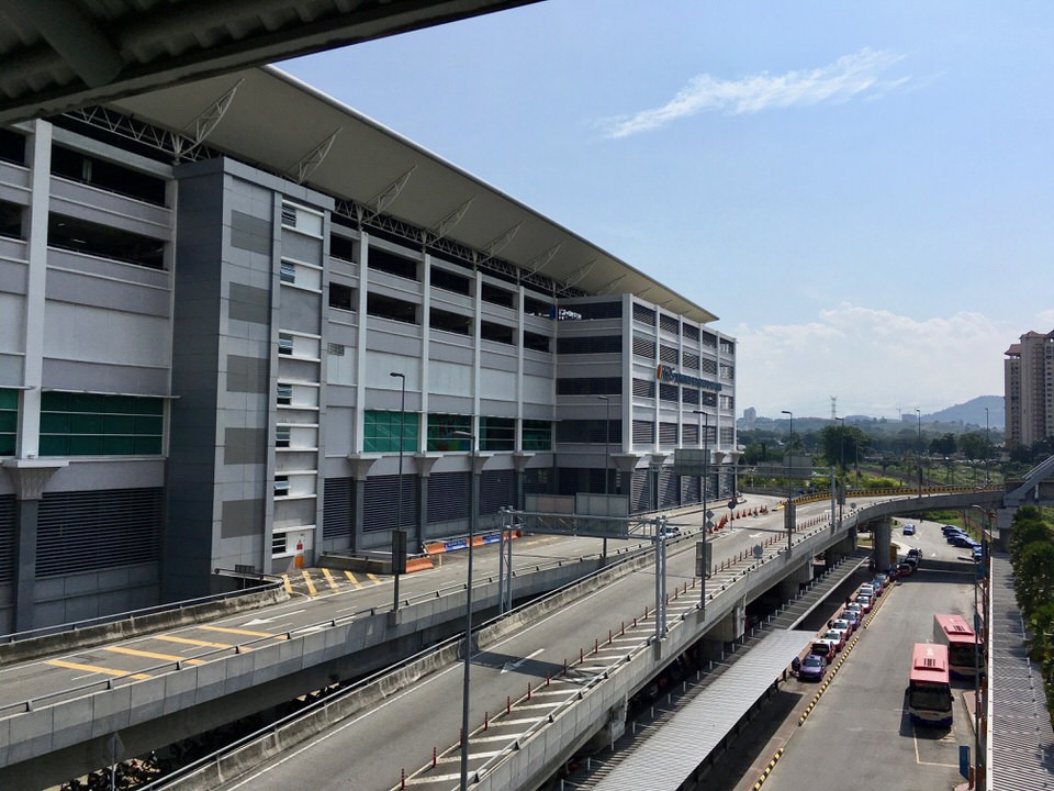 クアラルンプールのTBSバスターミナル