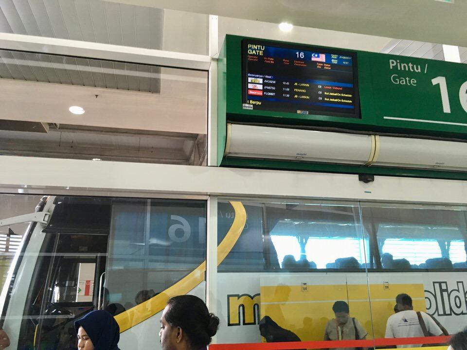 クアラルンプールからペナンまでバス移動もおすすめ