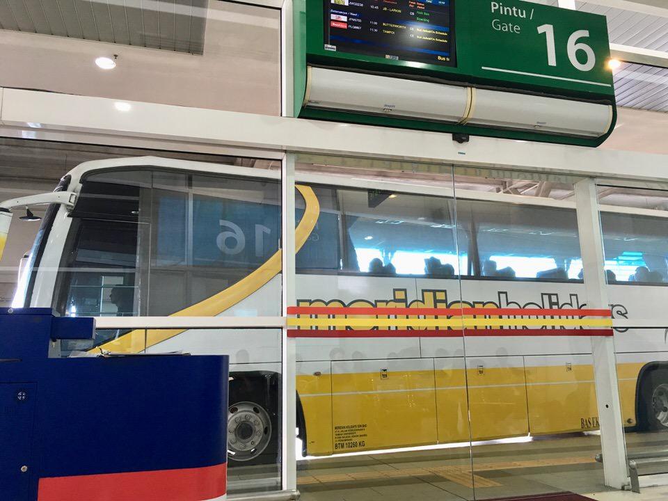 クアラルンプールからペナンまでバスで行く方法