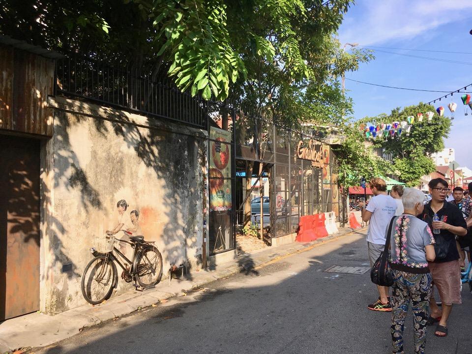 世界遺産ジョージタウンのストリートアート巡りを楽しむ方法