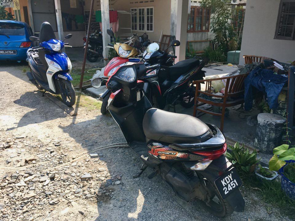 ランカウイ島のレンタルバイク料金相場