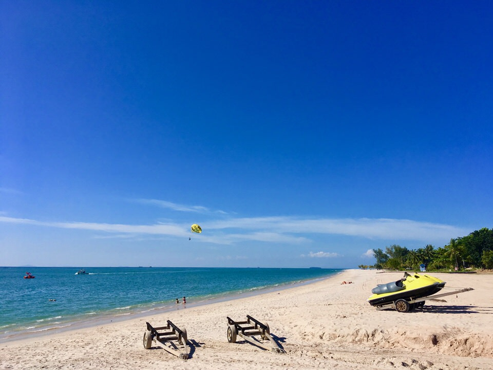 ランカウイ島のタンジュンルービーチ