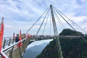 マレーシア・ランカウイ島のスカイブリッジ