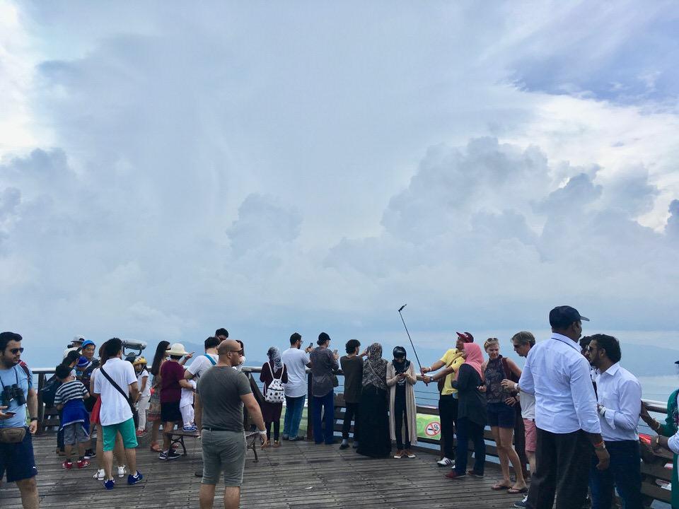 ランカウイ島の展望台