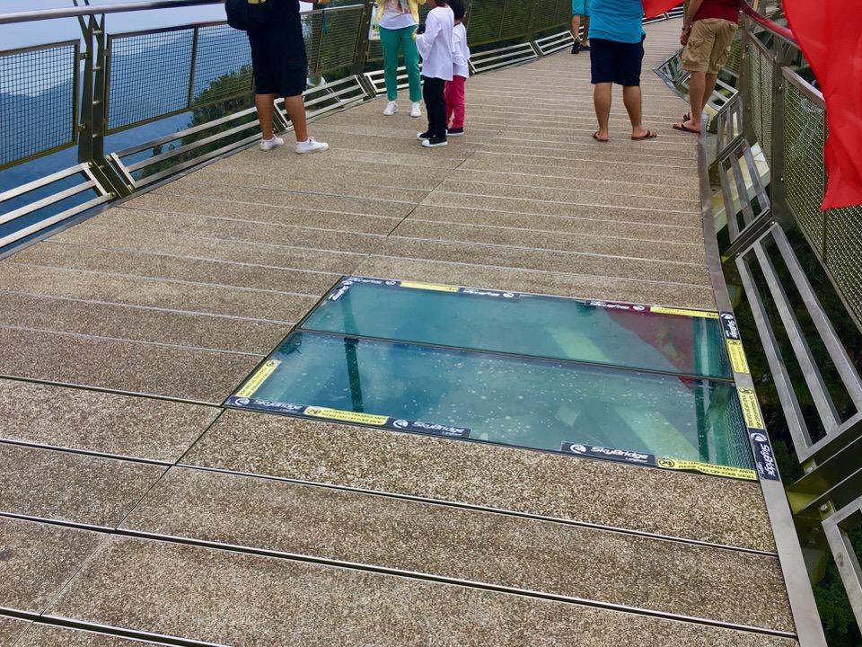 ランカウイ島のスカイブリッジ