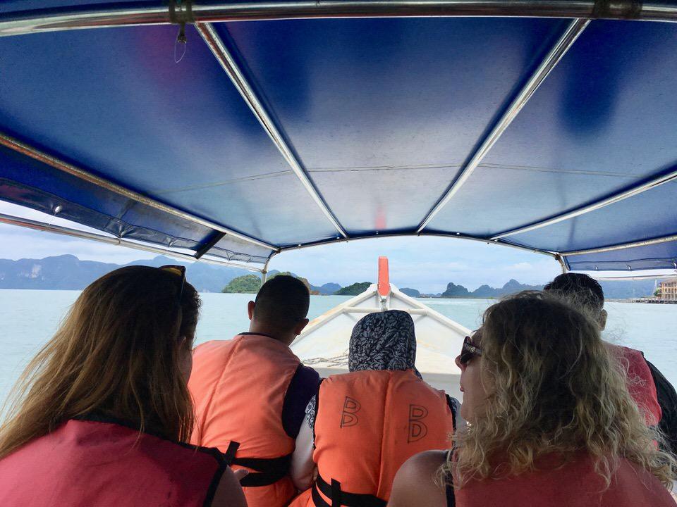 ランカウイ島のアイランドホッピングツアー