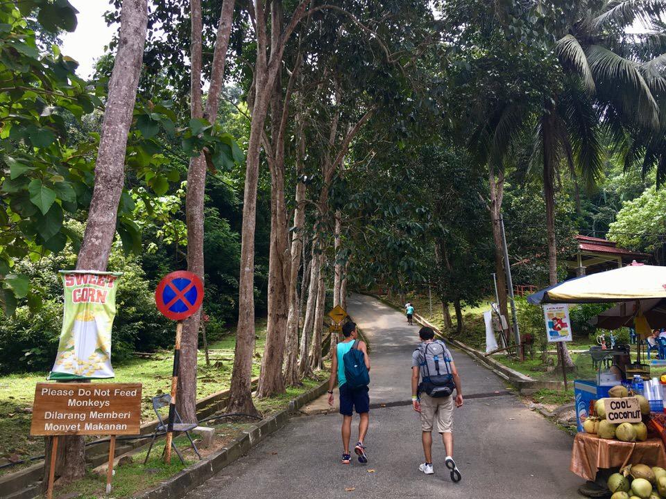 ランカウイ島のテラガ・トゥジュ滝