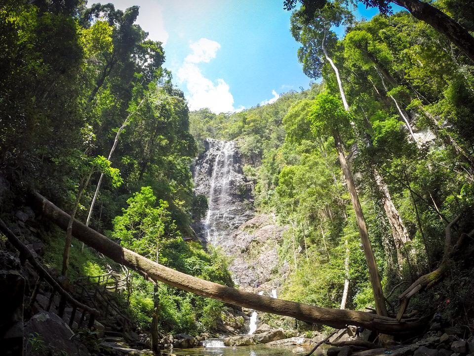 ランカウイ島おすすめのテムルン滝