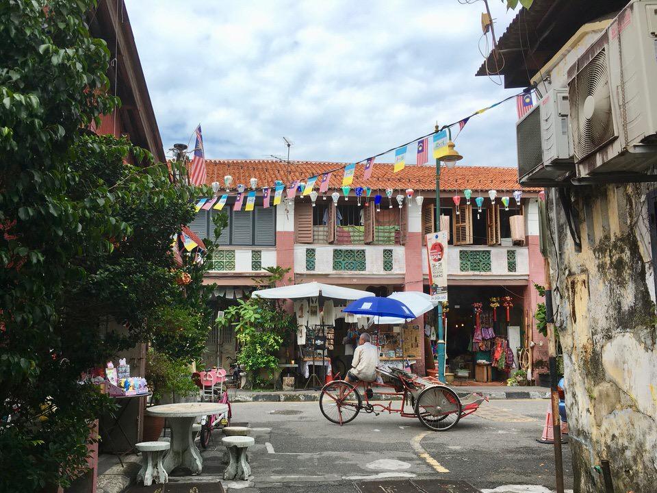 マレーシア・ペナン島のジョージタウン観光