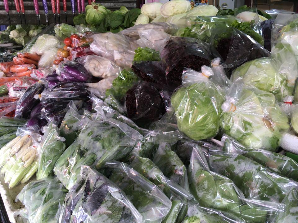キャメロンハイランドの野菜マーケット