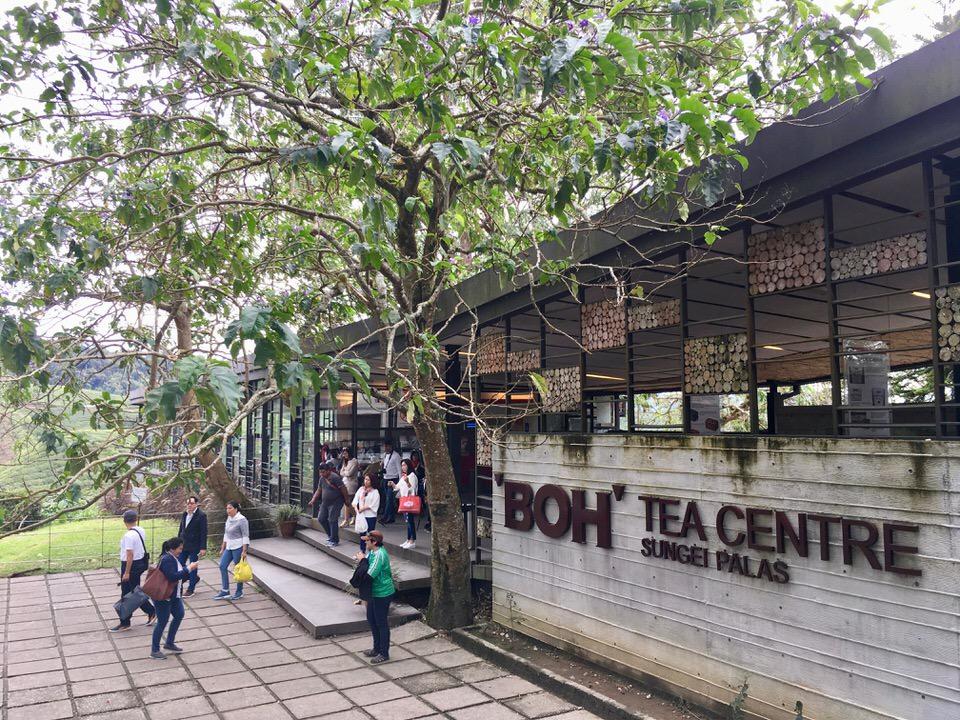 キャメロンハイランドのボーティーセンター(Boh Tea Center)