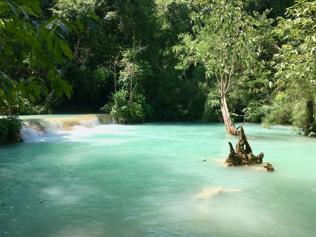 ラオスが誇るルアンパバーンの絶景『クアンシー滝』