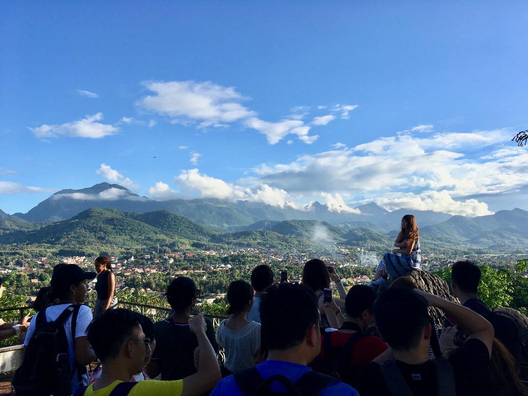 ルアンパバーンのプーシーの丘
