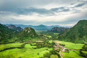 ラオス旅行バンビエン観光