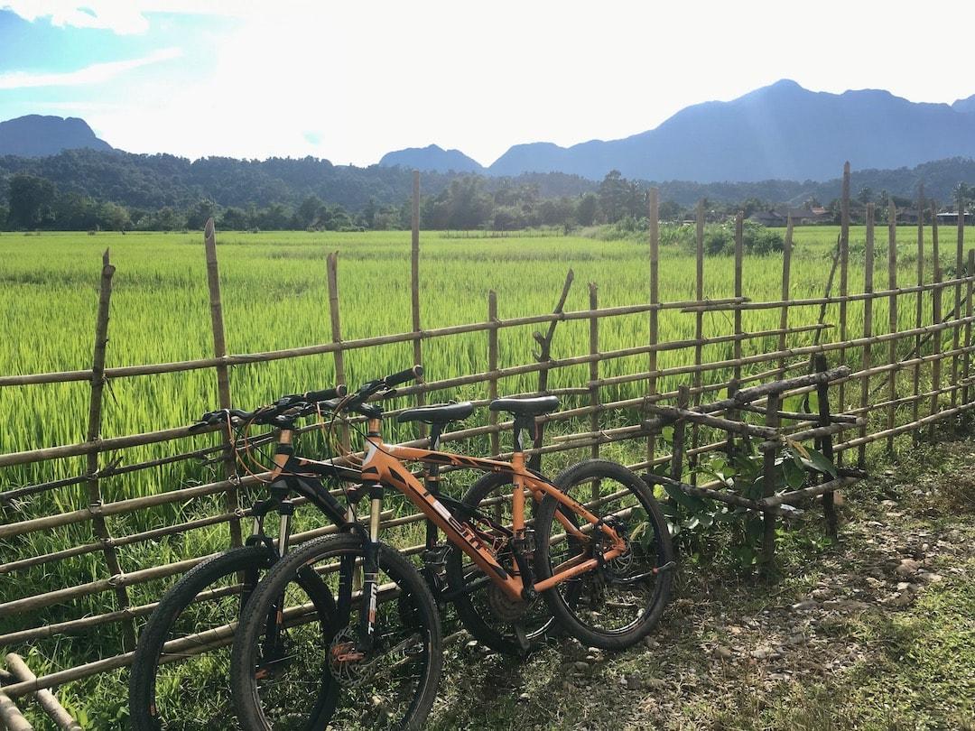 バンビえんをレンタルバイク(自転車)でサイクリング