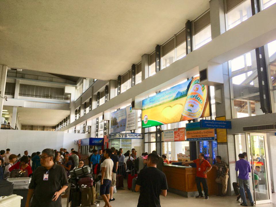 ラオスの首都ビエンチャンで空港から市内中心部へのアクセス方法