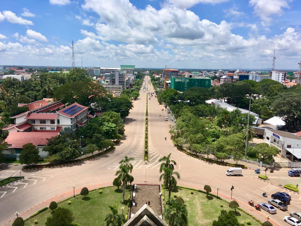 ラオスの首都ビエンチャン観光スポット散策