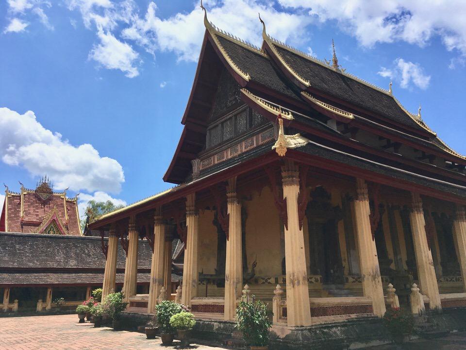 ラオス最古の仏教寺院ワット・シーサケット