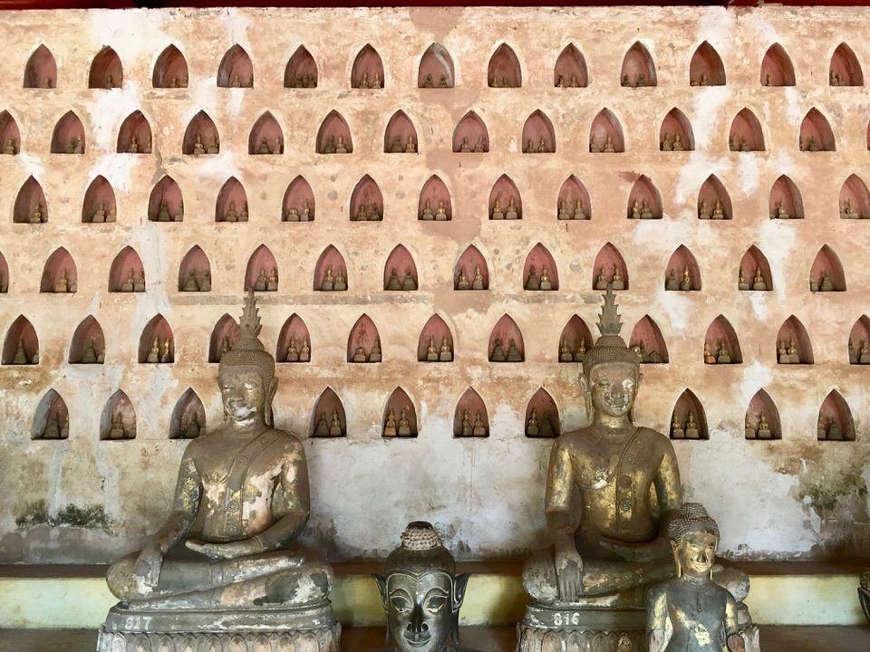 ビエンチャン最古の仏教寺院