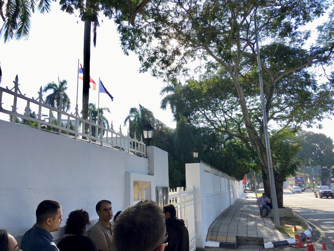 タイ大使館で観光ビザ申請