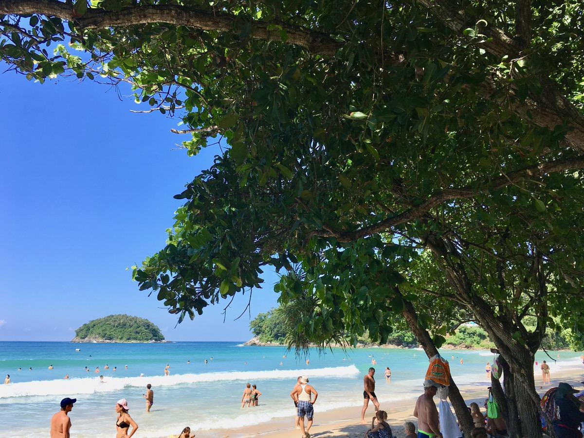 プーケット島のカタビーチ