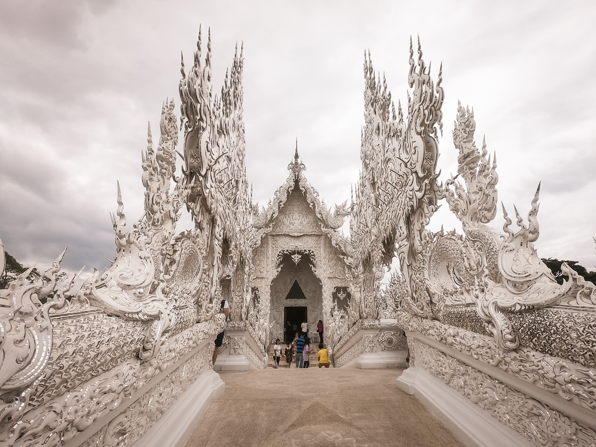 タイのチェンライ1泊2日の観光旅行