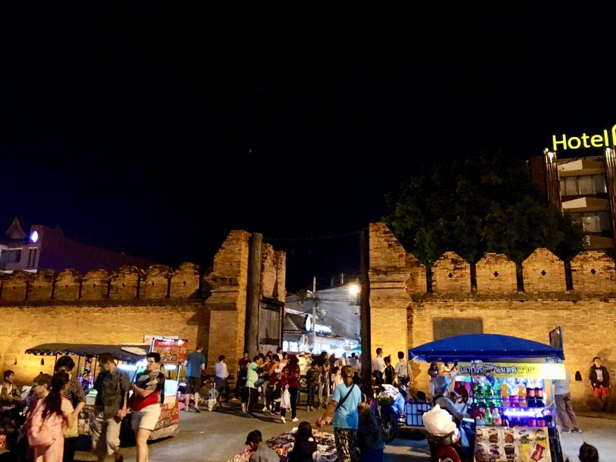 チェンマイのターペー門