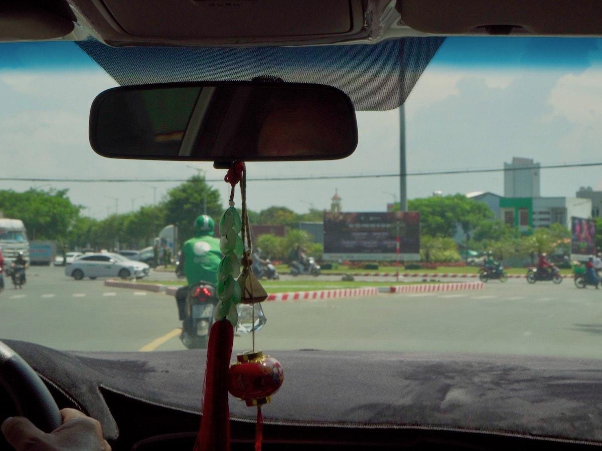 ダナン空港からグラブタクシー移動