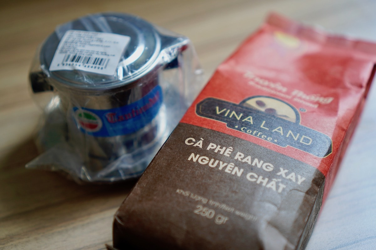 ベトナムコーヒーのお土産