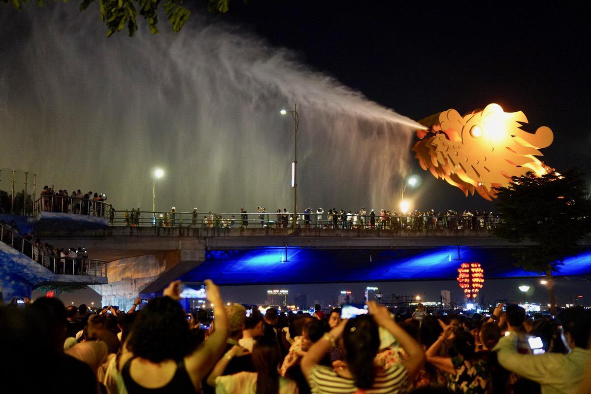 ダナン・ドラゴン橋イベント